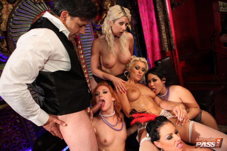 New full scene released: Hot vintage orgy