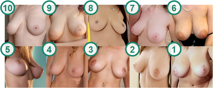 TOP 10 hottest models with alluring Hanging natural Tits