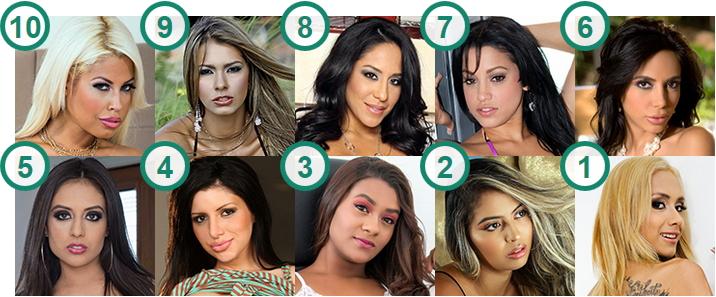 TOP 10 hottest Latina babes