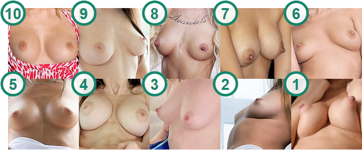 TOP 10 porn stars and cam girls with most desirable Puffy Nipples