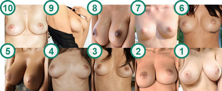 TOP 10 hottest Teens with gorgeous and natural Perky Tits