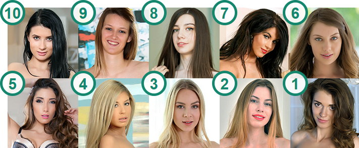 TOP 10 Hottest and Most Fuckable Flat-Chested Girls
