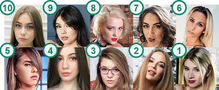 TOP 10 most searched Cam girls on Google
