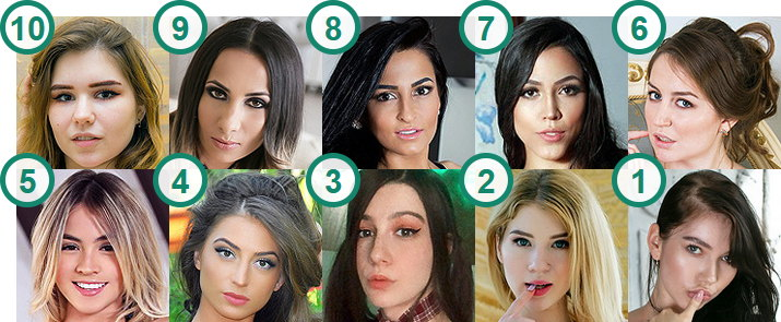 TOP 10 most popular English-speaking webcam girls