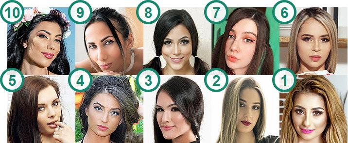 TOP 10 most followed Cam Girls on Twitter
