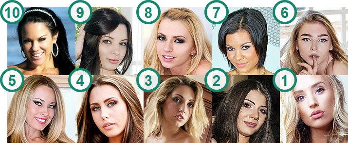 TOP 10 hottest American Cam girls