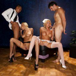 New full scene released: Stripclub 4way